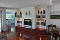 Designer Joinery Sydney: Living Room Shelving Display Unit