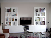 custom built-in storage and display solutions sydney