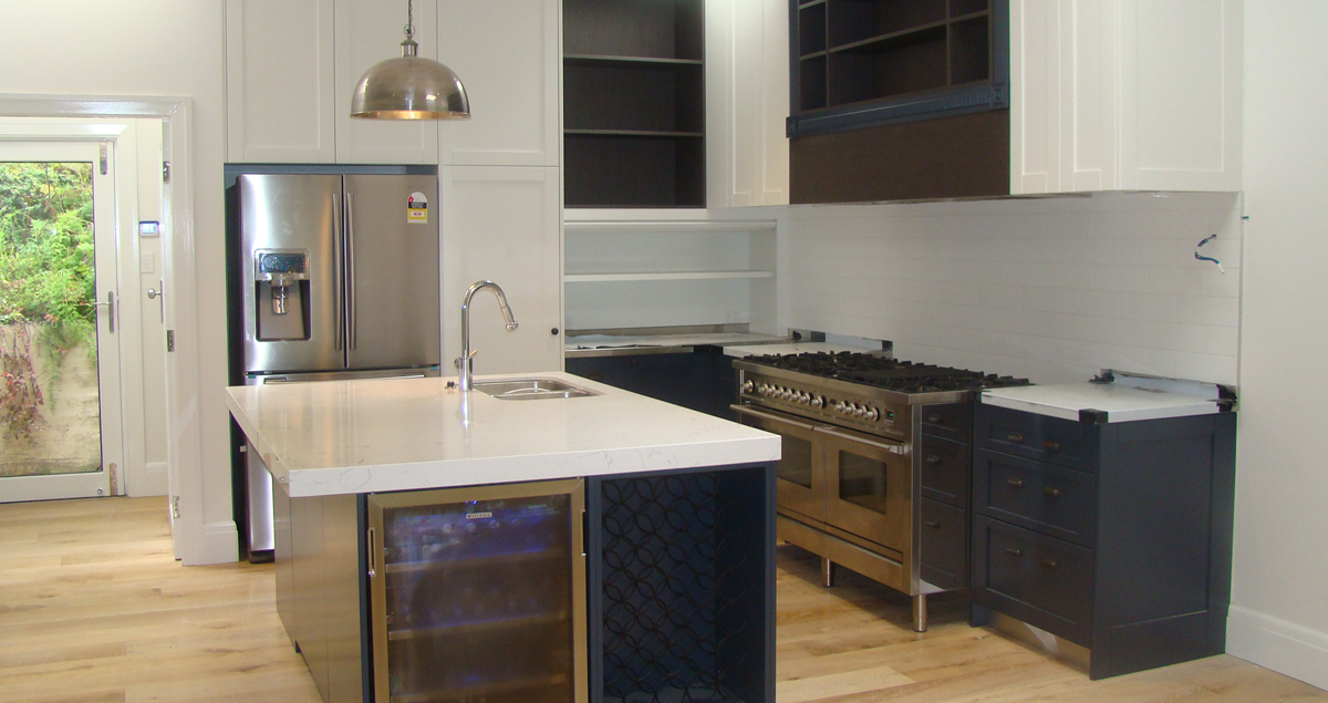 Soho Design Greenwich Custom Kitchen